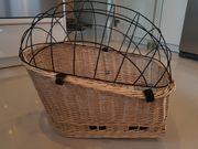 Hundefahrradkorb - Hundekorb für Gepäckträger aus