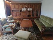 Sitzgruppe Sofa Sessel Tisch und