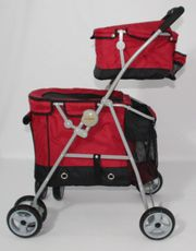 Hundekinderwagen Duo Rouge 2 100