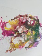 Acrylbild Bunt