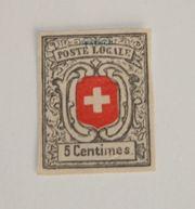 Briefmarke Schweiz Geneve 1851 - Faksimile
