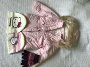Kuschelige Jacke in hellrosa - ein