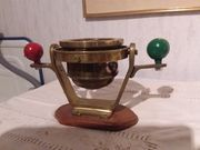 Kompass Messing antik