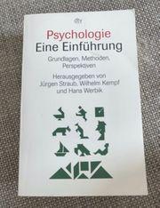 Psychologie Eine Einführung Straub Kempf