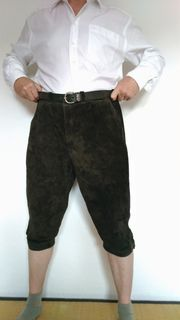 Meindl Kniebund-Lederhose Größe 28