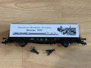 Fleischmann H0 99 5243 Containertragwagen