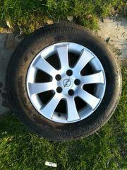 3 Reifen mit Alu-Felgen 16