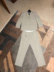 Anzug Für Herren Grau Gr