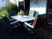 Terrassen Gartenmöbelgruppe 10teilig