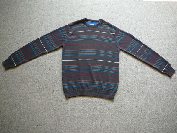 Verkaufe Pullover Ragman grau mit