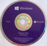windows 10Pro 64bit in englischer