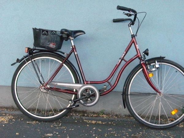 28-Zoll-Damenrad groß 7-Gang Nabenschaltung innenliegender