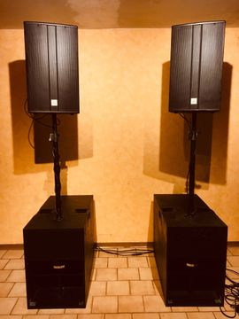 PA, Licht, Boxen - PA Anlage für Events aller