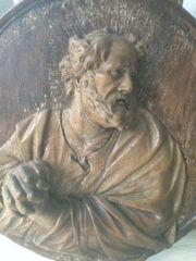 Seltenes Holz-Relief um 1600