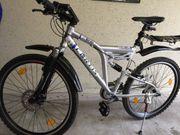ALU Mountenbike MTB CURTIS-Fully voll
