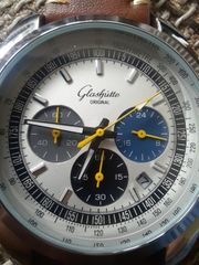 Original Glasshütte Herrenuhr neu