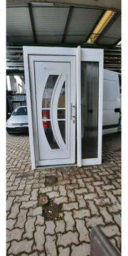 Kunststoff Eingangstür 155 cm breit