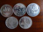 10EUR Münzen Satz 2008