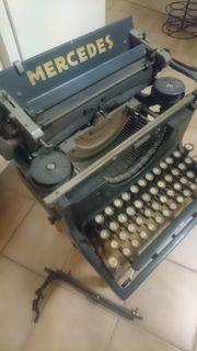 Mercedes alte Schreibmaschine Modell 4