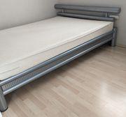 Bett 140 x 200 Metallgestell