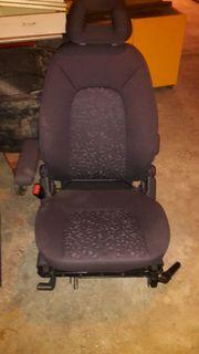 2 einzelne Rücksitze für DB