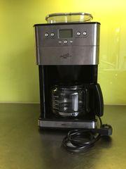 Silva Homeline Kaffeemaschine Silber Schwarz