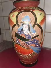 Vase asiatisch Satsuma