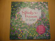 Buch Stickeralbum Stickertraum - Im Garten