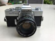 Minolta SRT 303 analoge Spiegelreflex-Kamera