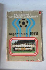 Sammelalbum Fußball WM 1978