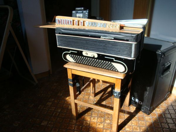 Akkordeon Stimmgerät Elektronischer Tonanzeiger