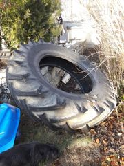 Alten Traktor-Reifen