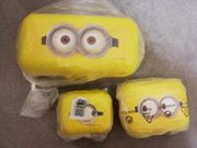 Tupperware 3 x Jausenbox gelb