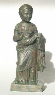 Statuette Figur der sog Kleinen