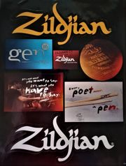Zildjian Sticker Aufkleber Set Glänzend