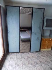 Kleiderschrank Schlafzimmerschrank Schiebetüren Schrank Komode -