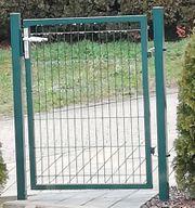 Gartentür Moosgrün RAL6005 neu Türhöhe