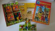 Carcassonne Junior Spiel Brettspiel ab