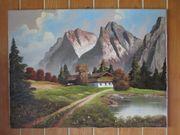 Ölbild wilder Kaiser ca 80x60cm