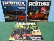 Eisenbahn - Modelleisenbahn - PRIMEX - 11 Stück