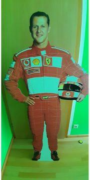 Michael Schumacher Pappfigur in echtgröße