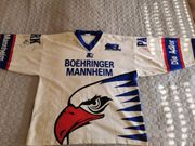 Mit Unterschriften Adler Mannheim Trikot