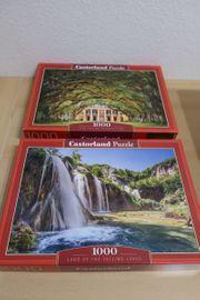 2 Puzzle Castorland 1000 Teile