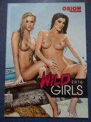 Kalender Wild Girls 2016 inkl