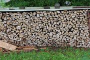 Heimisches Brennholz Fichte