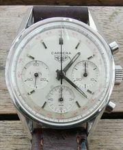 Alter Heuer Carrera Chronograph Ref