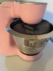 MUM 5 Küchenmaschine rosa silber