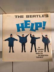 Beatles Help LP Schallplatte Vinyl