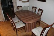 Esstisch ausziehbar 6 Stühle