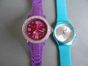 2 schöne Uhren von Stainless